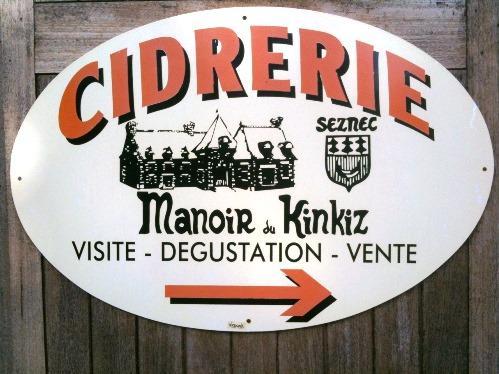 Cidrerie Manoir du Kinkiz