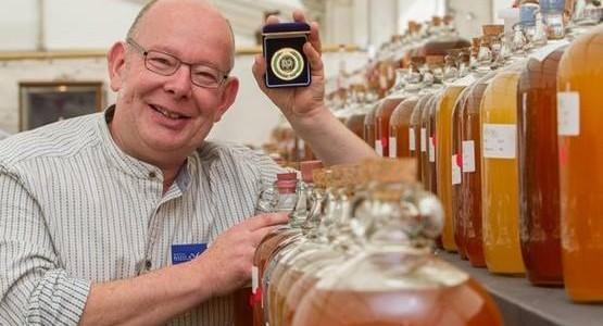 Tom Oliver award winning cider