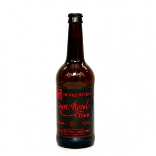 Dunkertons Court Royal Cider 50cl