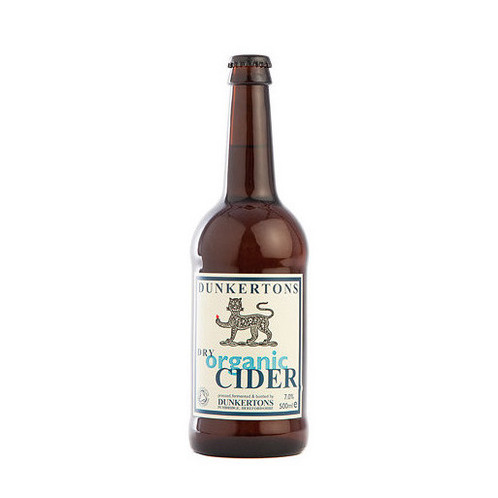 Dunkertons Dry Organic Cider 50cl