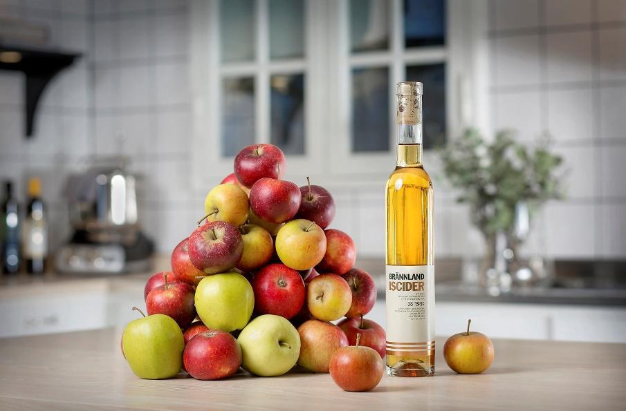 Brännland Iscider met appels