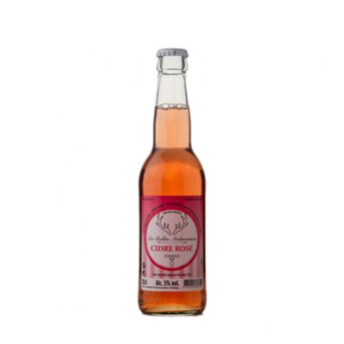 Les Bulles Ardennaises Cidre Rosé 33cl