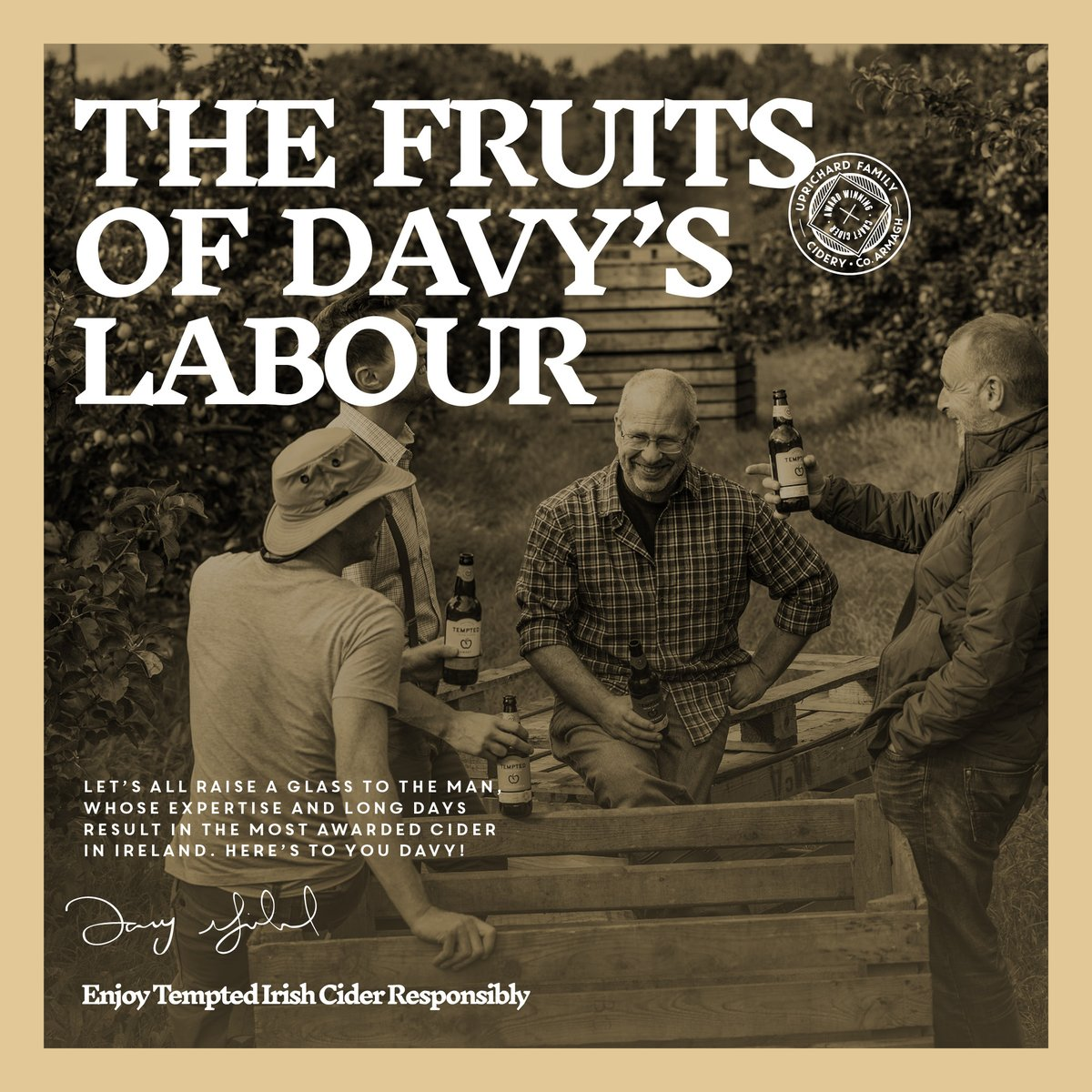 The fruits of Davy's labour