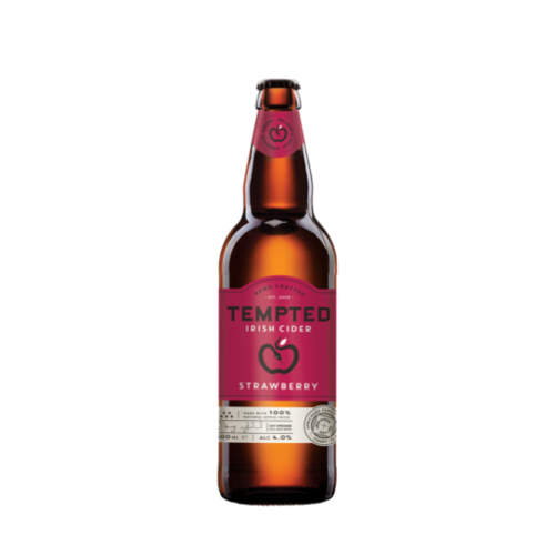 Tempted Cider Strawberry 50cl