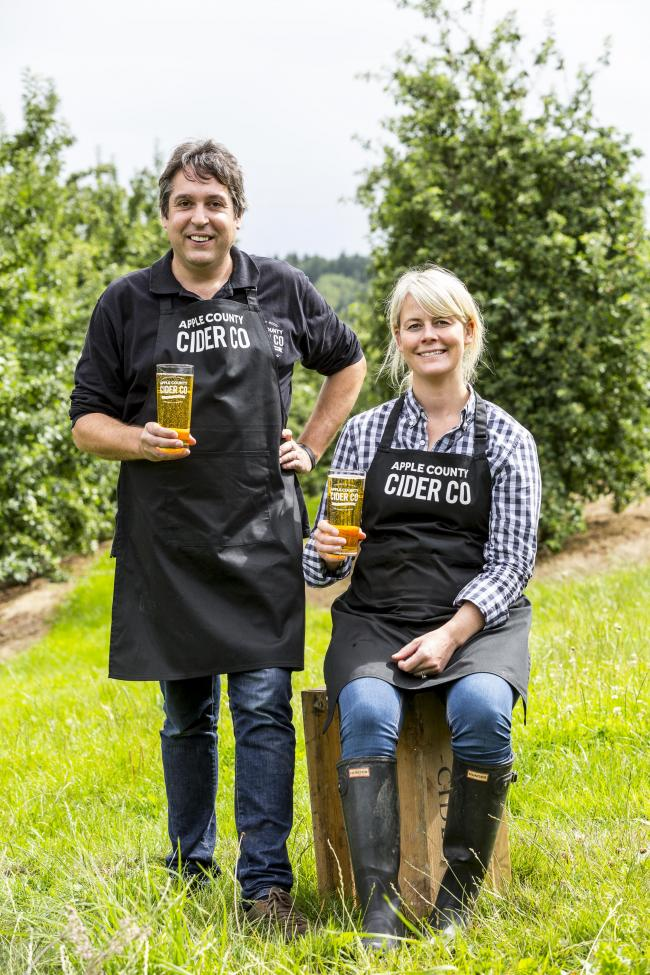 Steph en Ben Culpin Apple County Cider